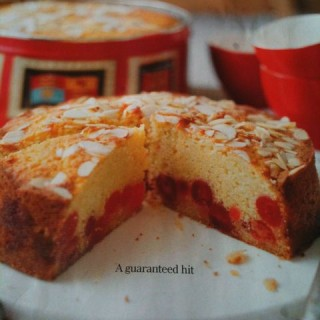 BBC Good Food's Cherry and Almond Cake