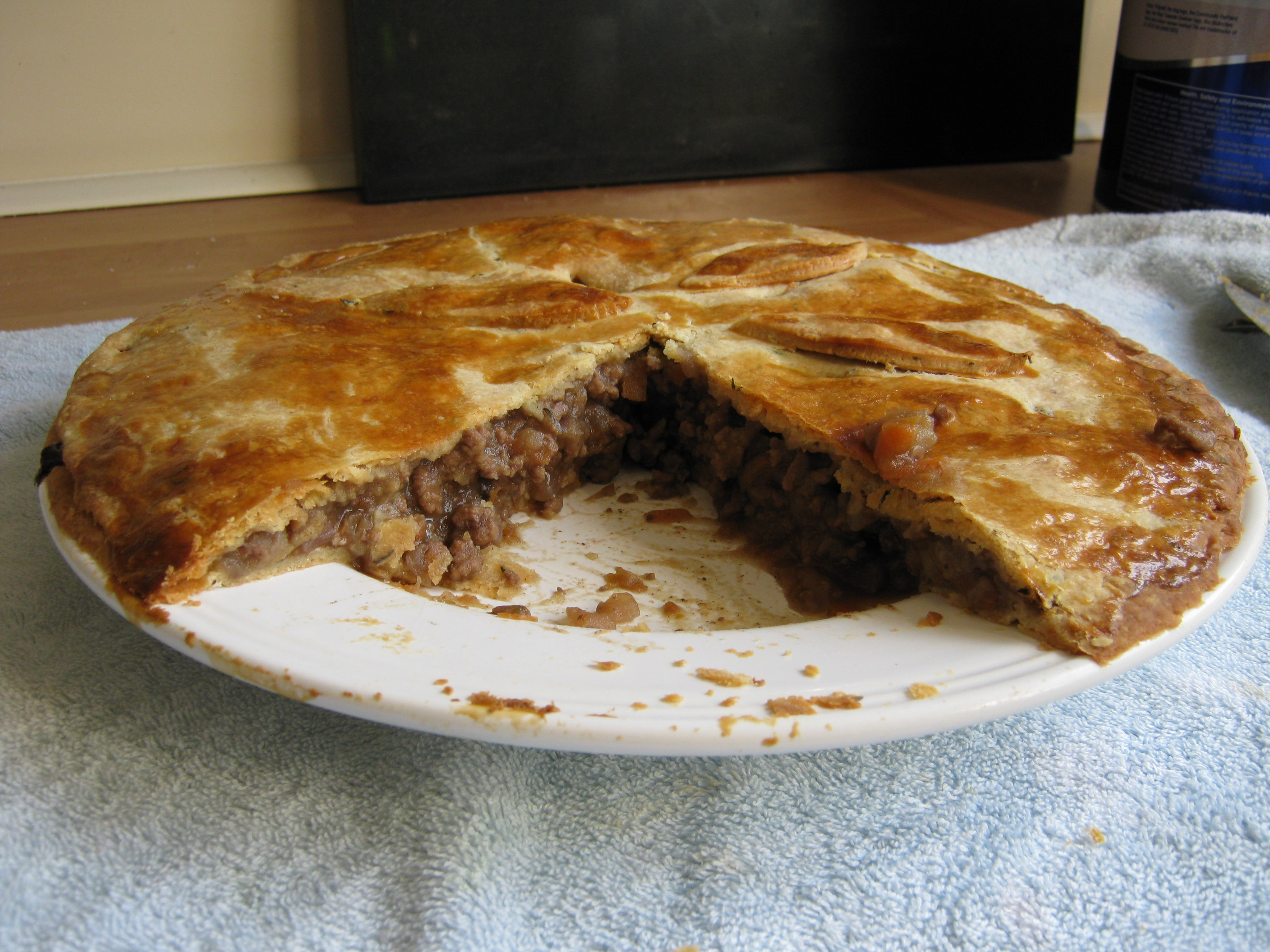 Meat And Potato Pie The Ultimate Bloke Food Feeding Boys
