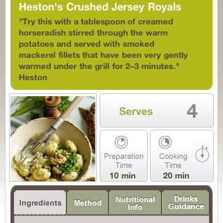 Waitrose iPhone app