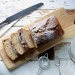 Easy Banana and Apple Loaf Cake on feedingboys.co.uk