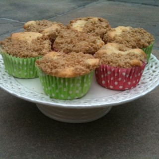 Apple Crumble Cupcakes – September Bake it!
