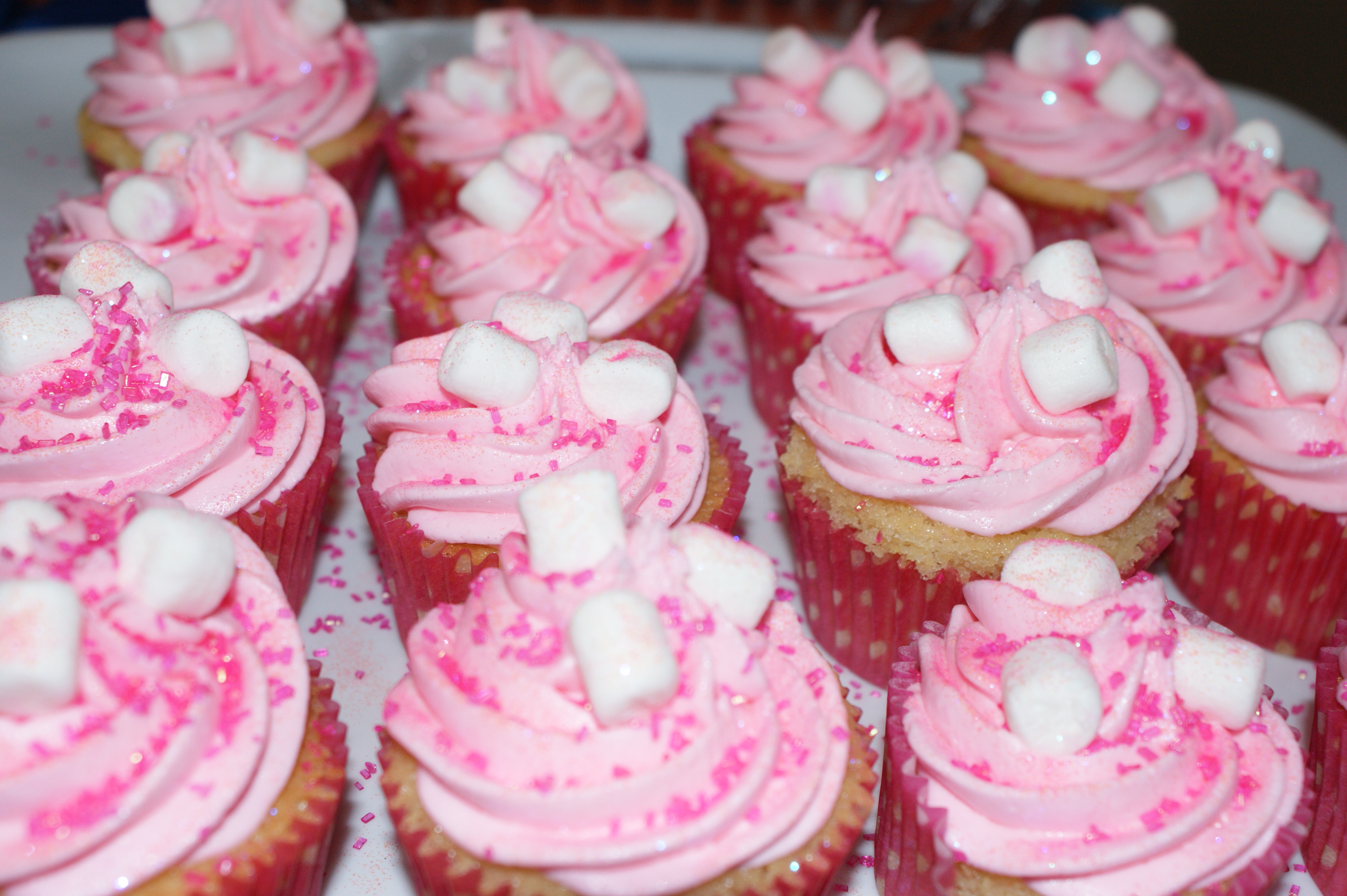 Pink Champagne Cake California