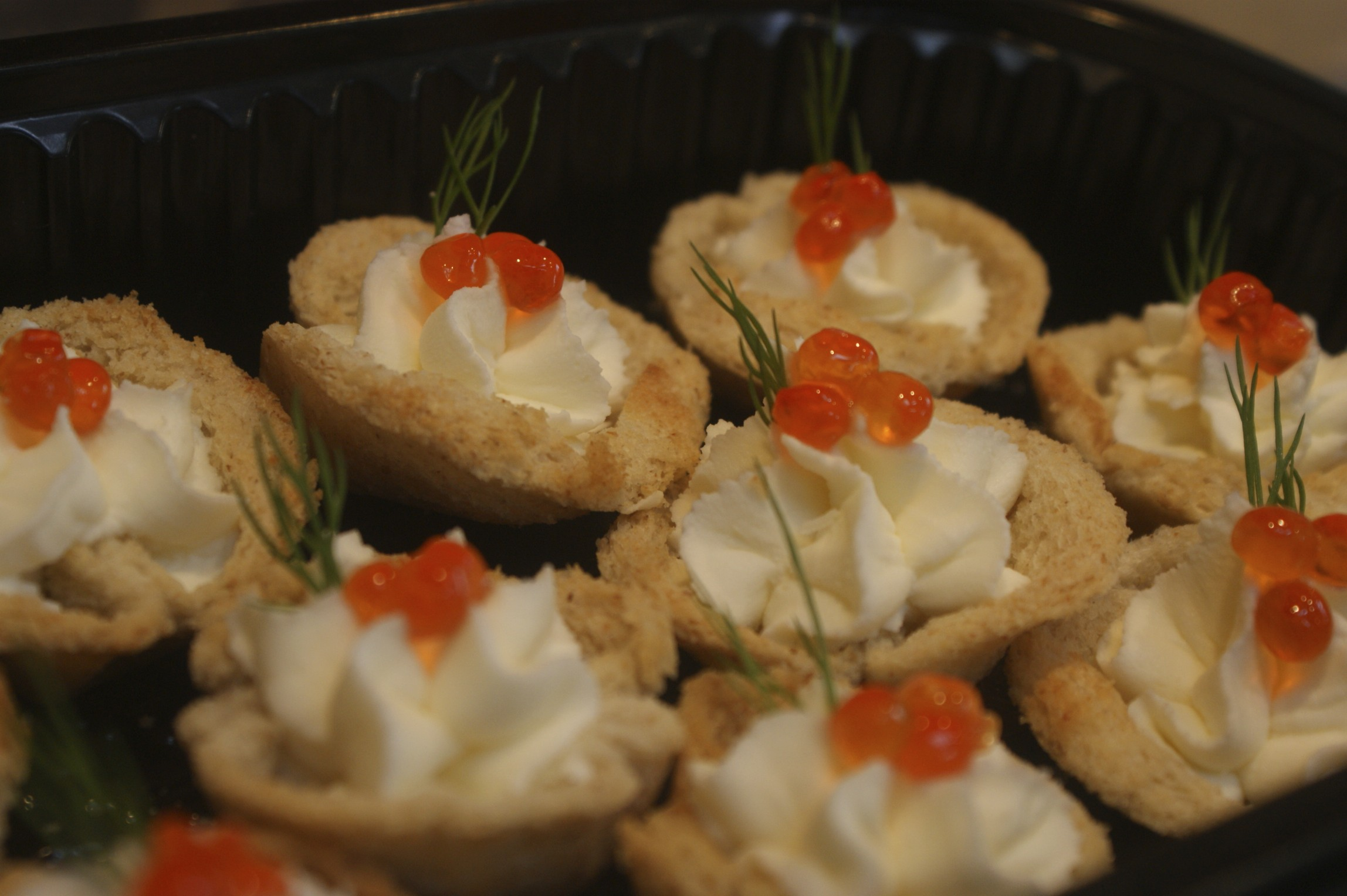 Canape ideas for special occasions for Canape fillings