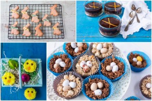 Easter recipes for Good Food Channel website