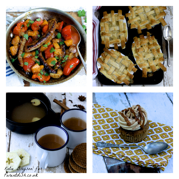 Autumnal recipes by Katie Bryson for Parentdish.co.uk