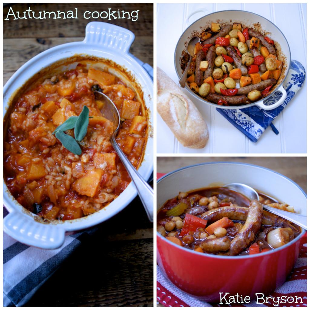 Autumnal recipes by Katie Bryson for parentdish