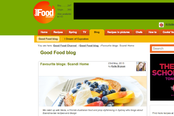 Good Food Channel Blog