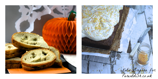 Halloween recipes by Katie Bryson for Parentdish.co.uk