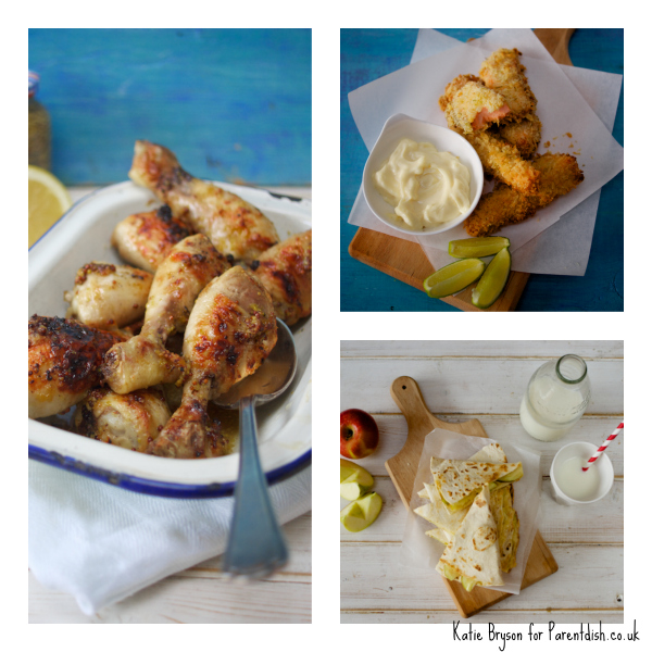 Spring recipes created by Katie Bryson for Parentdish.co.uk
