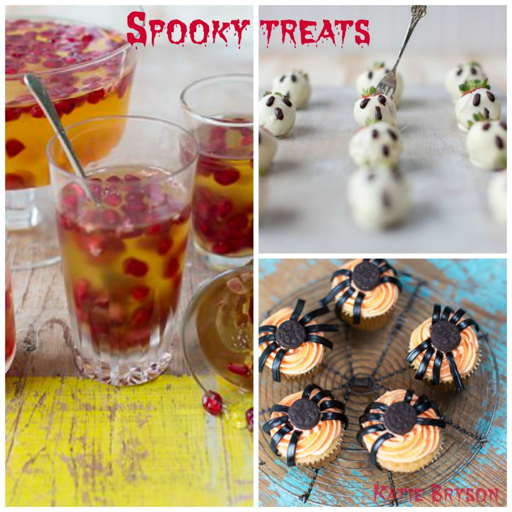 spooky recipes for the Good Food Channel website by Katie Bryson