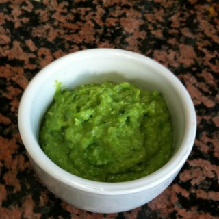 Allotment update and chunky broad bean dip