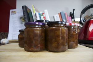 Pear chutney finished