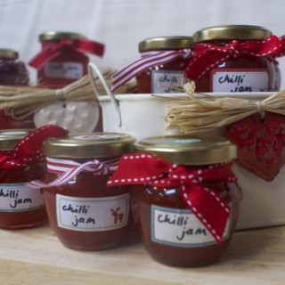 Home made gift idea: Chilli Jam