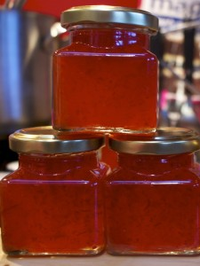 chilli jam freshly made