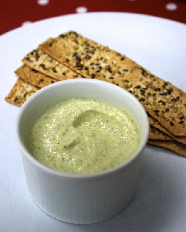 Creamy minted pea dip - Feeding Boys & a FireFighter