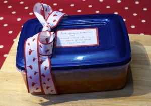 gift wrapped stew
