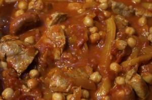 tasty protein packed stew