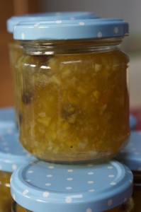 rum and raisin marmalade