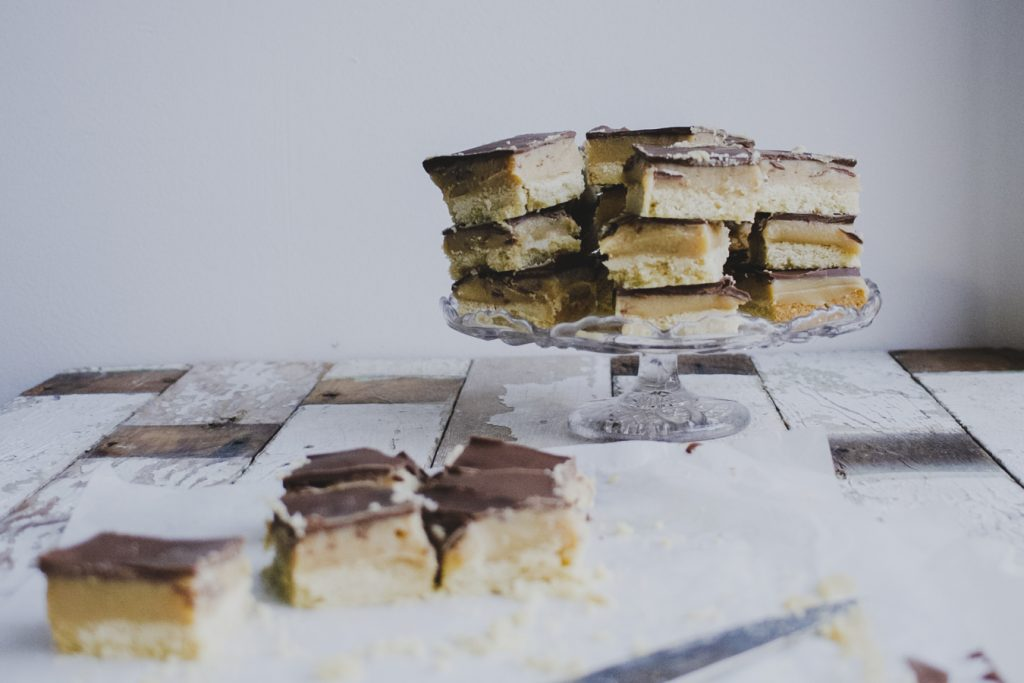 Easy Millionaire's Shortbread on feedingboys.co.uk