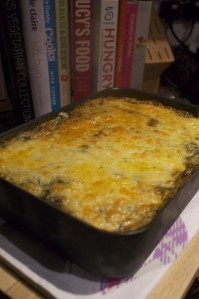 roasted sweet potato lasagne