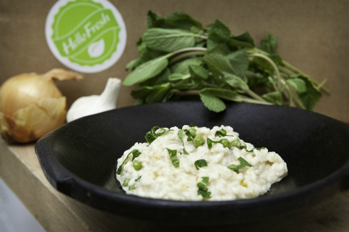 Risotto from Hello Fresh