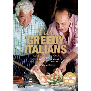 Win Two Greedy Italians DVD