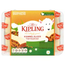 Mr Kipling Simnel Slices