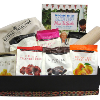 Win Natural Selection Easter baking hamper