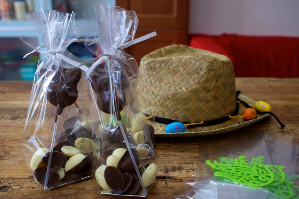 Easter chocolate making project