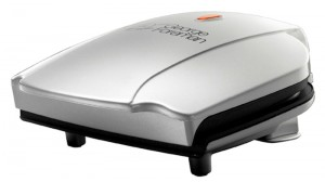 George Foreman two portion grill