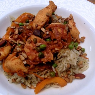 Orange, soy and maple chicken