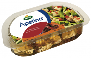 Apetina with sun-dried tomatoes