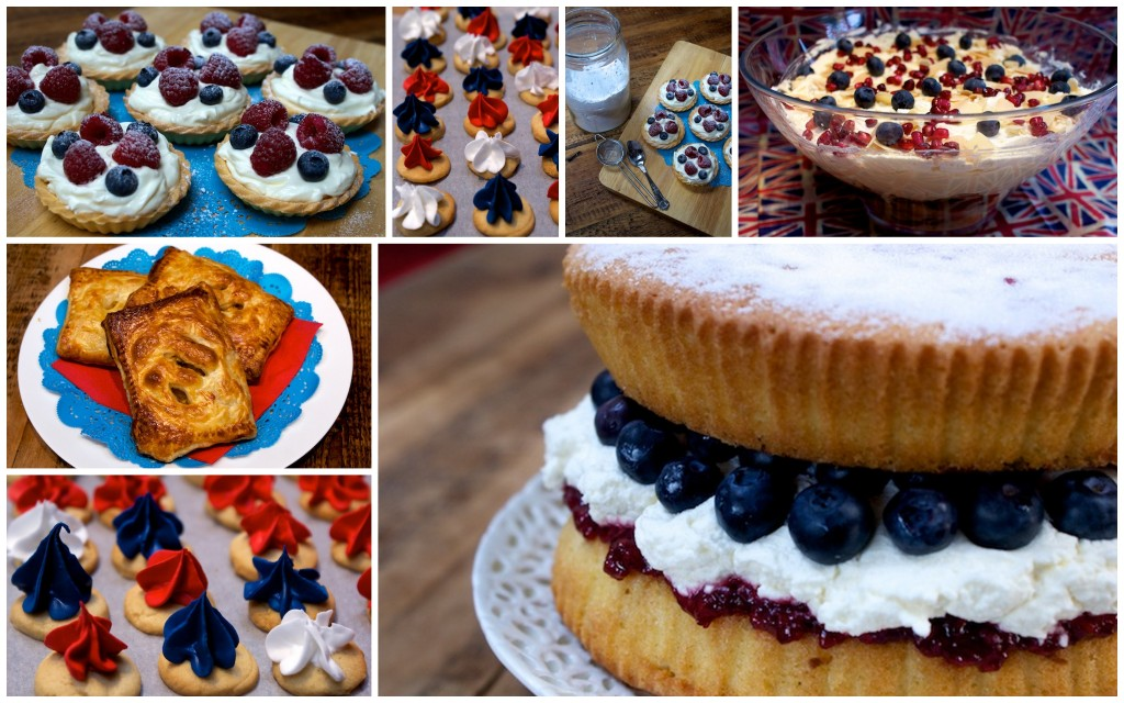 Jubilee baking for Parentdish.co.uk