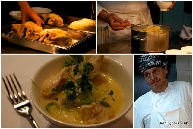 Marco Pierre White serves up chicken casserole