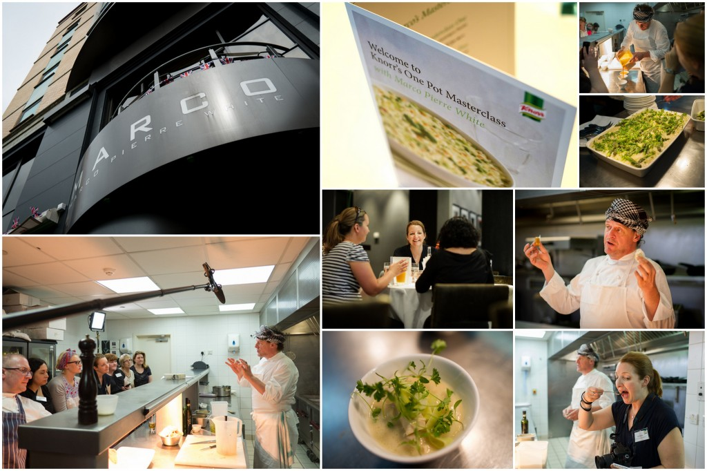 Knorr one pot cookery masterclass with Marco Pierre White