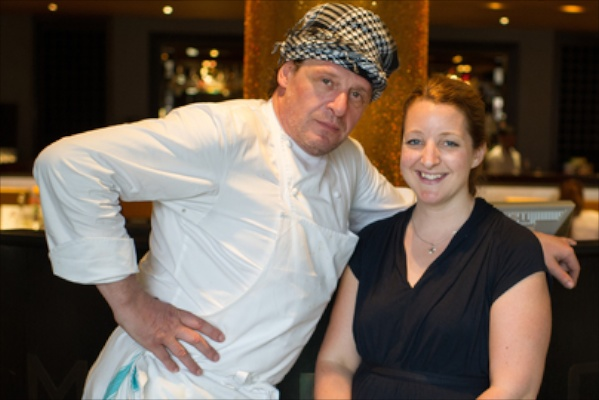 Marco Pierre White with Katie Bryson