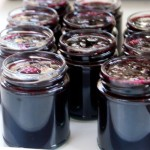 Blackcurrant and chilli jam