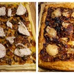 quick goats cheese tart