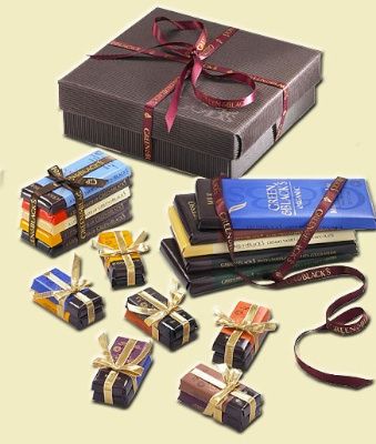 Green & Blacks gift box