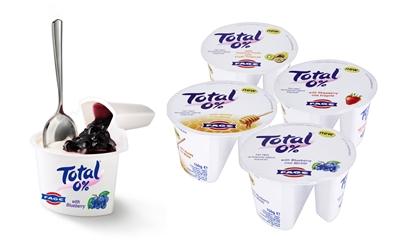 Total greek yoghurt split pots