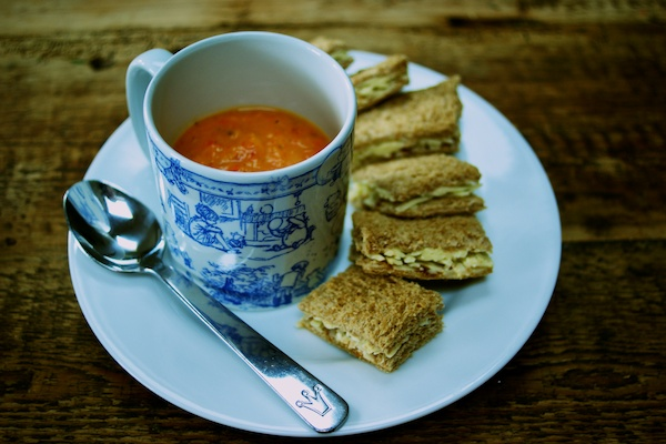 Arlo's soup and sandwiches