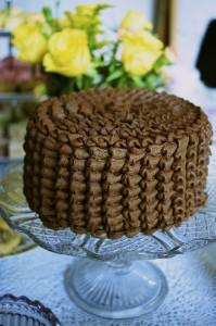 Stunning chocolate orange layer cake