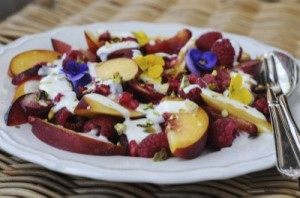 Late Summer Fruit Salad from Ren Behan