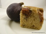 Fig and Vanilla Demerara Crunch Cake