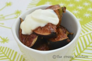 rum baked figs