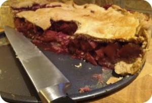 Fig, Honey, Apple & Blackberry Pie