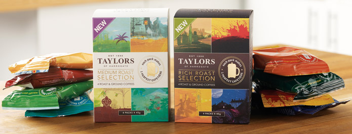 Taylor's selection packs
