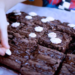 Bake sale brownies