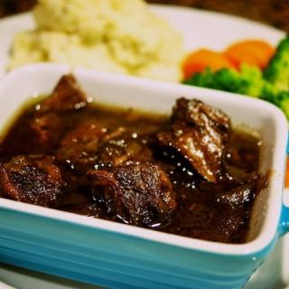 Warming Beef Bourguignon
