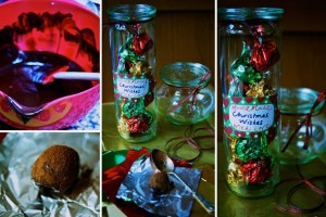 Christmas Wishes in a jar